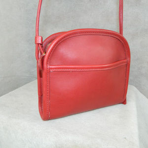 COACH Vintage 'Abbie Zip' Bag M7C-9017 RED NEW!